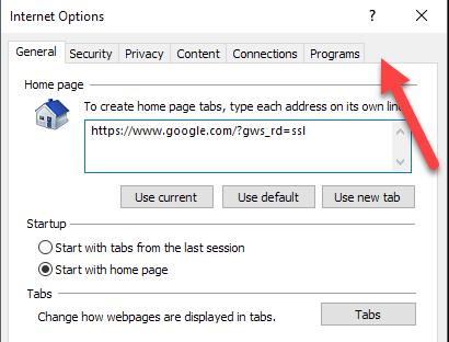 Make Internet Explorer Your Default Browser