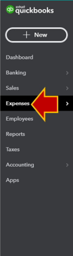 Delete An Expense in QuickBooks Online