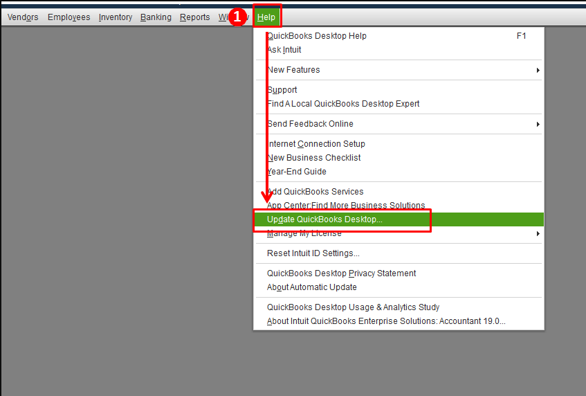 Update QuickBooks by Enabling the Automatic Update Option