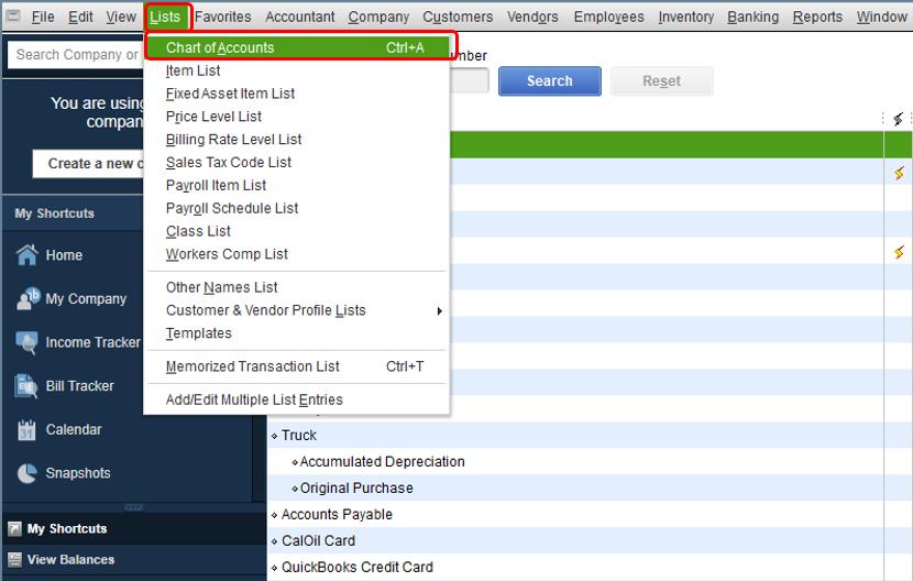 Delete an Inventory Item in QuickBooks