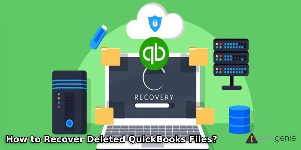 How to Recover Deleted QuickBooks Files using Auto Data Recovery Tool?