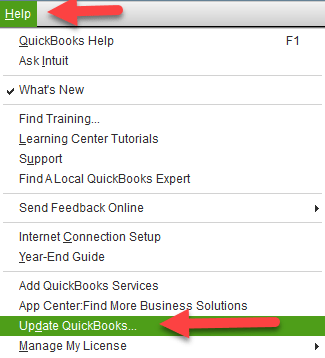 Update QuickBooks to the Latest Version