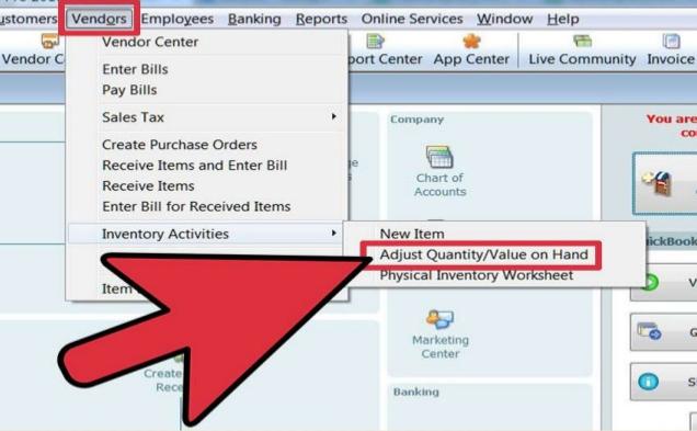 Delete Inventory Adjustment in QuickBooks Desktop