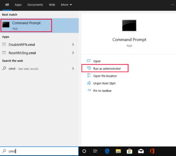 Modify the Account Settings on Windows