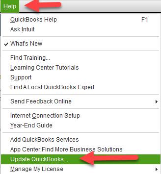 Update QuickBooks to the New Version