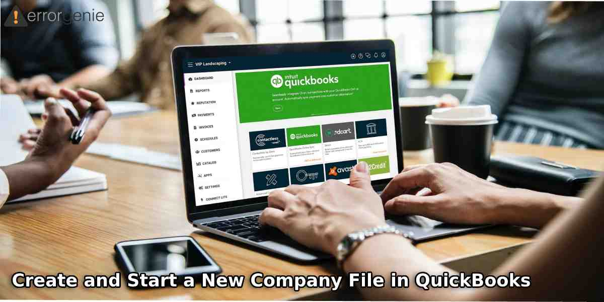 How to Create and Start a New Company File in QuickBooks Desktop, Pro, & Premier?