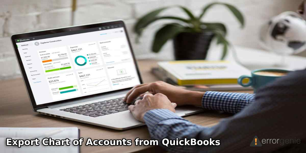 How to Export Chart of Accounts from QuickBooks Desktop & Online?