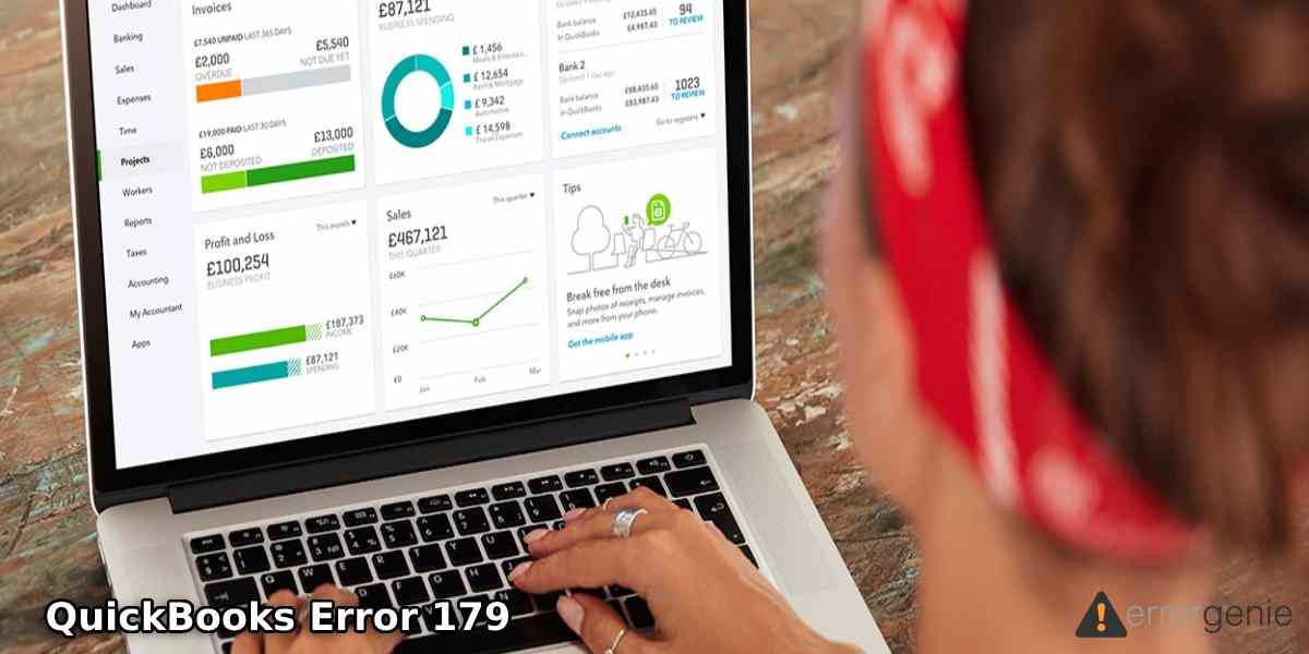 QuickBooks Error 179: Why it Occurs and How to Fix