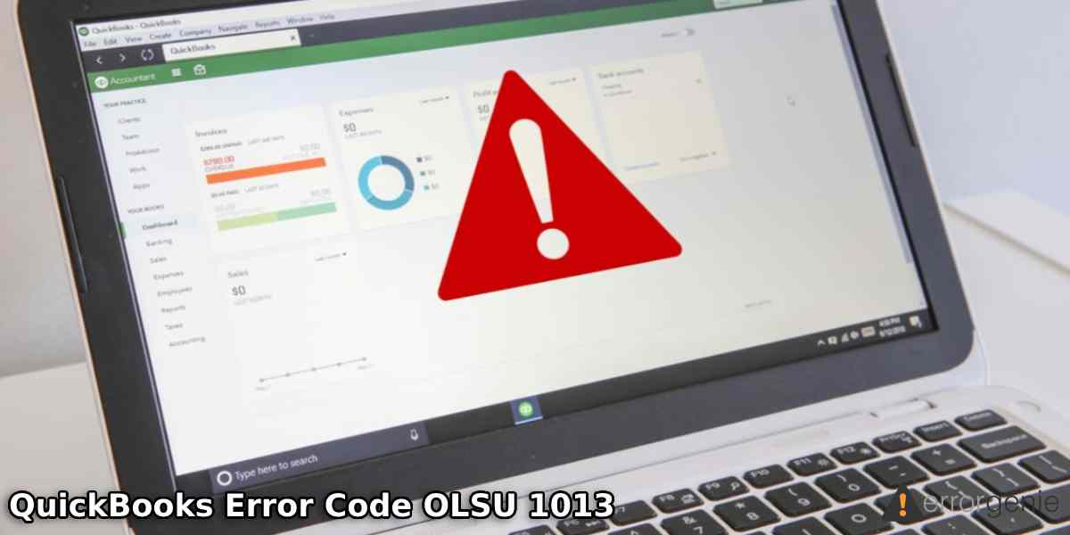 QuickBooks Error Code OLSU 1013: Fixes and Reasons behind its Occurrence