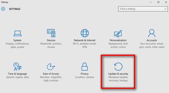 Update Security