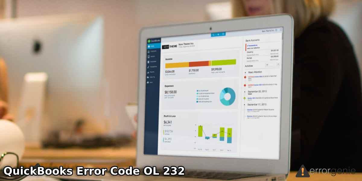 QuickBooks Error OL 232: Resolve Bank Feeds Issues in QuickBooks Desktop