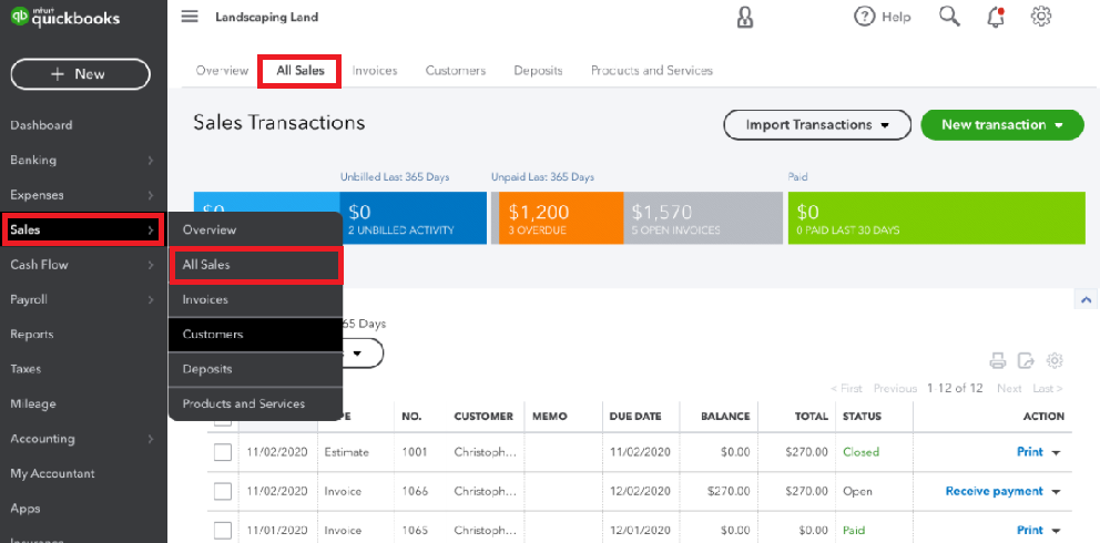 Convert an Invoice to an Estimate in QuickBooks