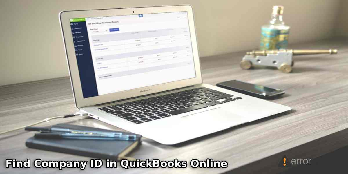 How to Find Company ID in QuickBooks Online?