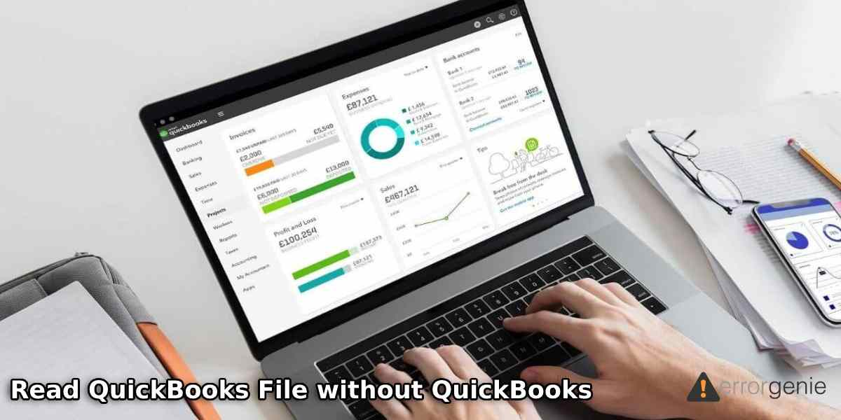 How to Read QuickBooks File without QuickBooks?