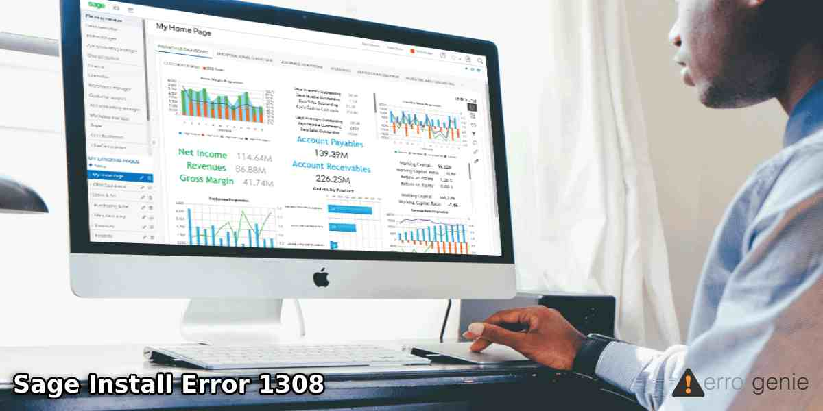 Sage Install Error 1308