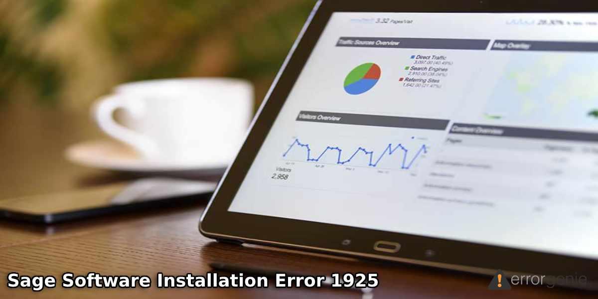 Software Installation Sage Error 1925