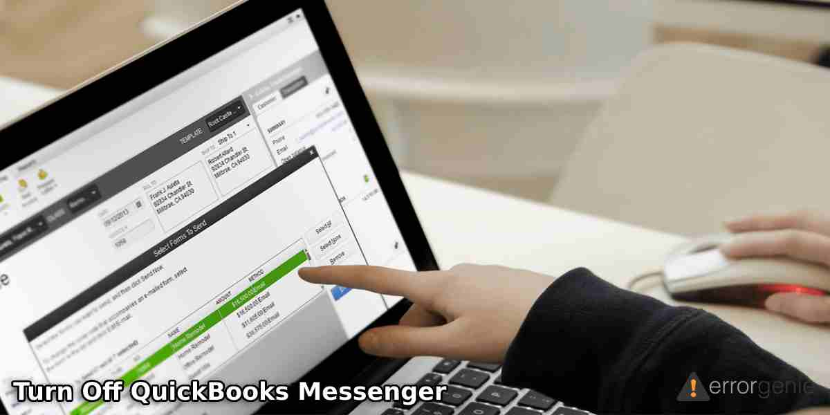 How to Turn Off QuickBooks Messenger and Close Company Files for Other Users?