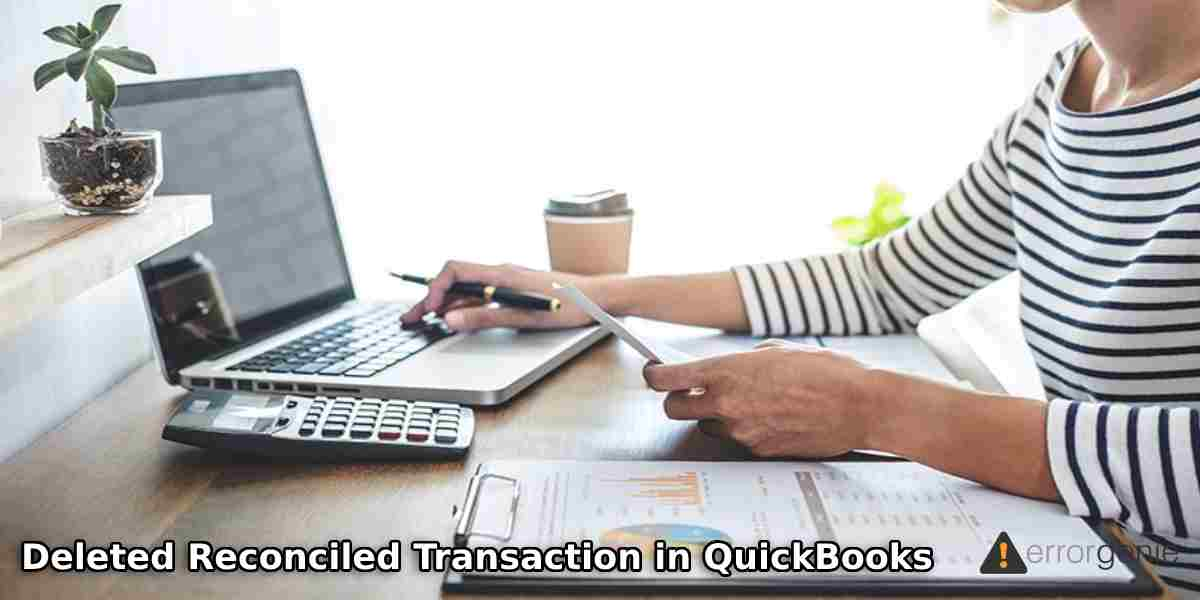 How to Fix Deleted Reconciled Transaction in QuickBooks Online?