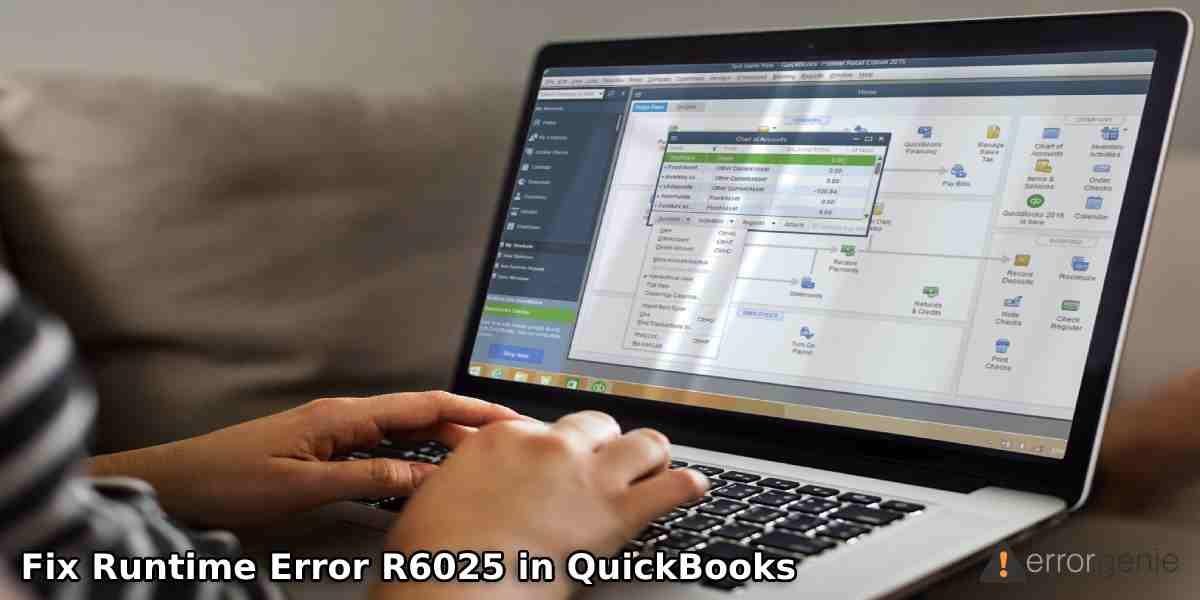 Fix Runtime Error R6025 in QuickBooks
