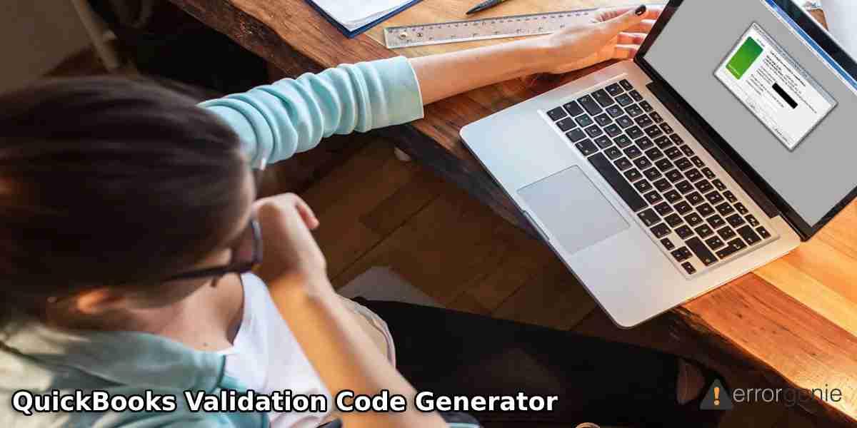 How to Use QuickBooks Validation Code Generator?