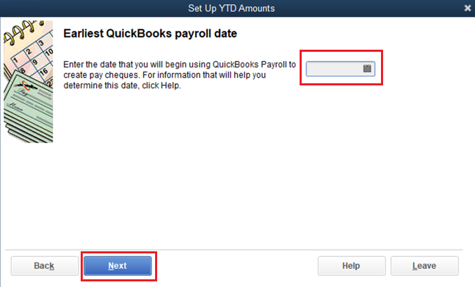 estimated first payroll date