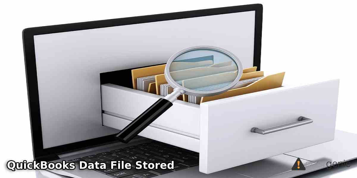 Where is the QuickBooks Data File Stored?