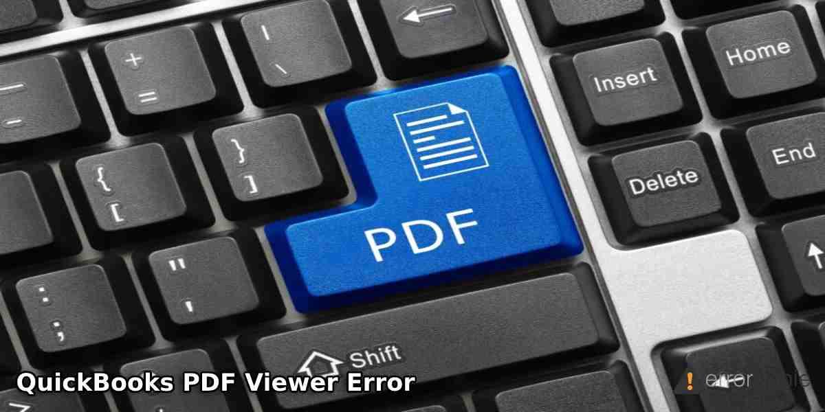 QuickBooks PDF Viewer Error